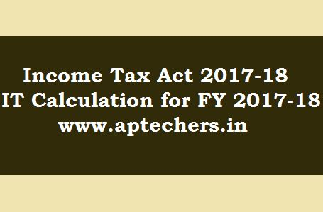 section 18 of income tax act income tax act and income tax calculation for 2017 18 for