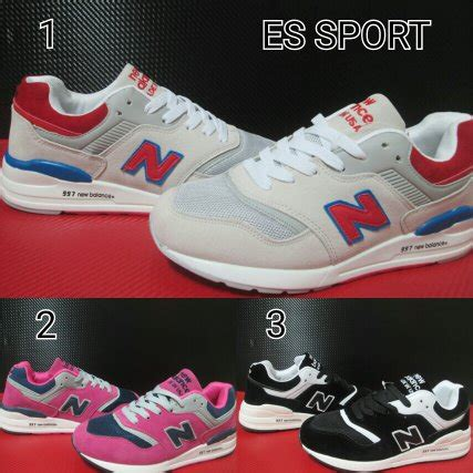 Sepatu Olahraga Wanita Murah Sepatu Sport Cewek Hru 003 jual beli sepatu cewek sneakers new balance 997 sepatu