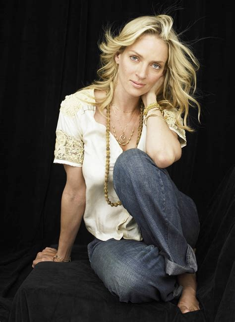 Uma Thurman Pictures by Uma Thurman Photoshoot By Andrew Eccles