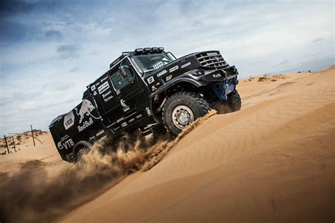 rally truck kamaz reveals cab truck to conquer the rally dakar