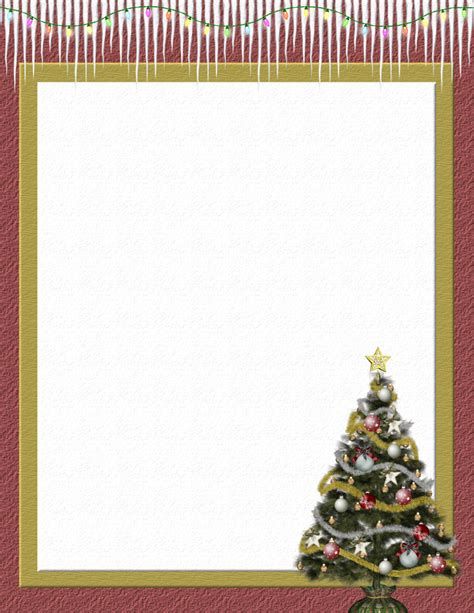 free printable christmas paper templates christmas 2 free stationery com template downloads