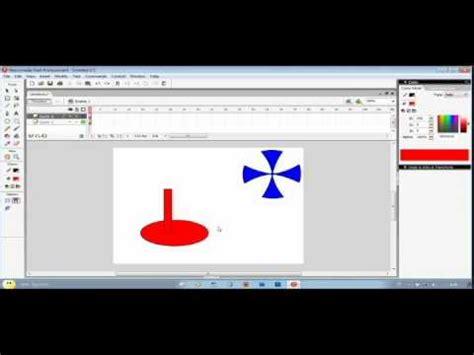 tutorial flash membuat kipas angin tutorial membuat animasi kipas angin sederhana youtube