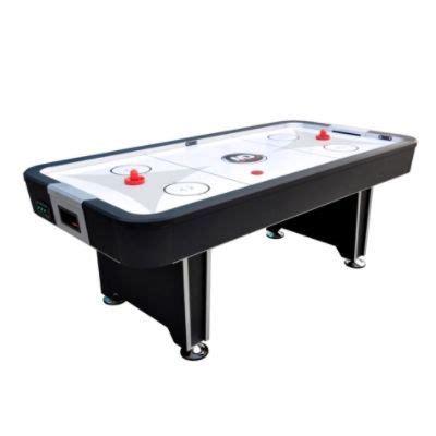 md air hockey table md sports 18400 7ft quake air powered hockey table