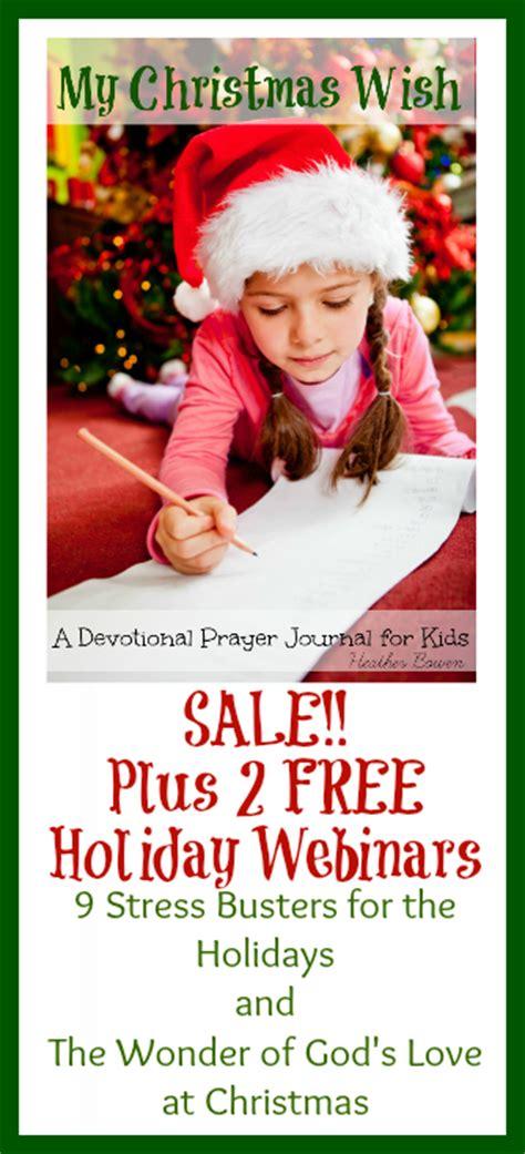 my christmas wish a devotional prayer journal for kids