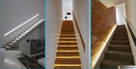 illuminazione scale esterne illuminazione per scale interne 30 idee originali con