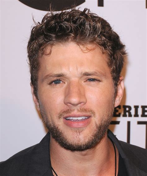 Ryan Phillippe Short Curly Casual Hairstyle   Dark Blonde