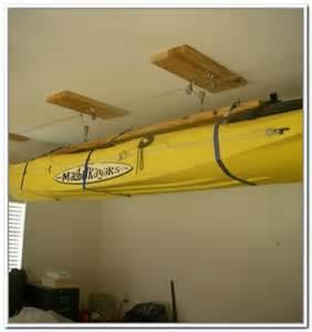 Garage Kayak Storage Hoist Kayak Storage Hoist Best Storage Ideas Website