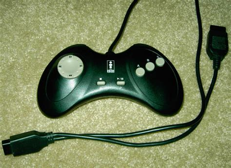 most comfortable controller logitech 3do pad front the retro review project