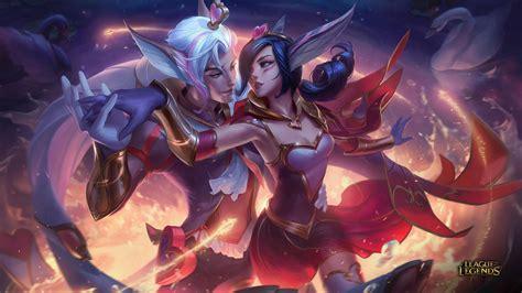 xayah and rakan new epic skins sweetheart xayah and rakan league of legends