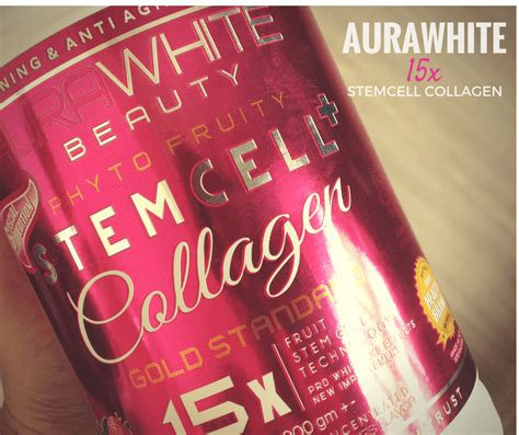 Collagen Secret Of Senrose aurawhite 15x stemcell archives food