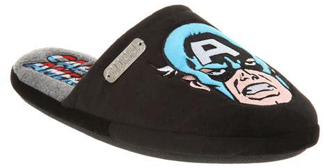 captain america slippers mens mens marvel slippers captain america ebay