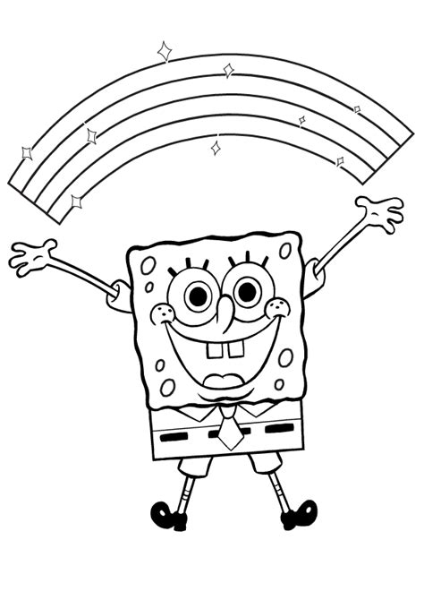 printable coloring pages spongebob coloring pages from spongebob squarepants animated