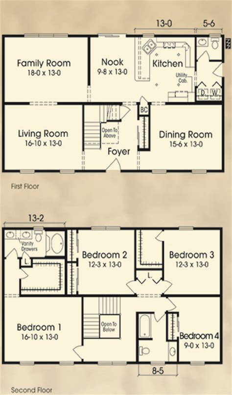 4 Bedroom Ranch Floor Plans The Fitchburg Atrium International Inc