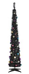 pop up christmas tree with lights indoor tinsel christmas