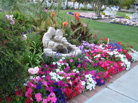 Beautiful Garden Ideas Beautiful Garden With Flowers Design Decoration