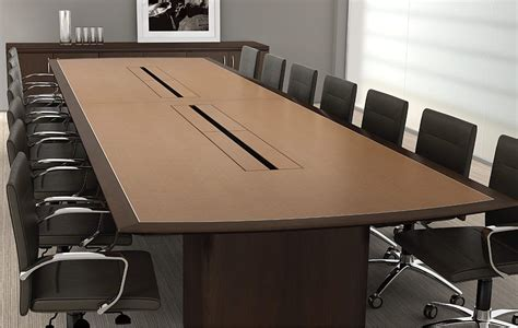 meeting room table layout magna design s conference tables allow you to power your