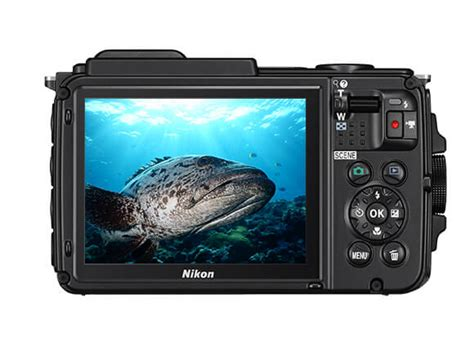 Kamera Nikon Coolpix Aw130 nikon coolpix aw130 undervattenskamera i vattent 228 t kamera