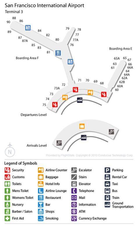 san francisco airport map united cheap airport car rental deals at san francisco intl usa