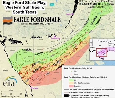 texas shale map how is the eagle ford eagle ford shale play