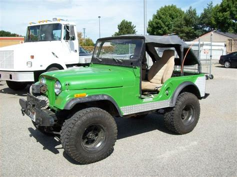 green jeep cj green jeep cj for sale used cars on buysellsearch