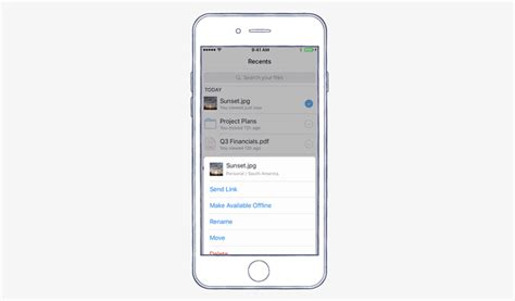 dropbox xamarin dropbox for ios now supports 3d touch and faster in app