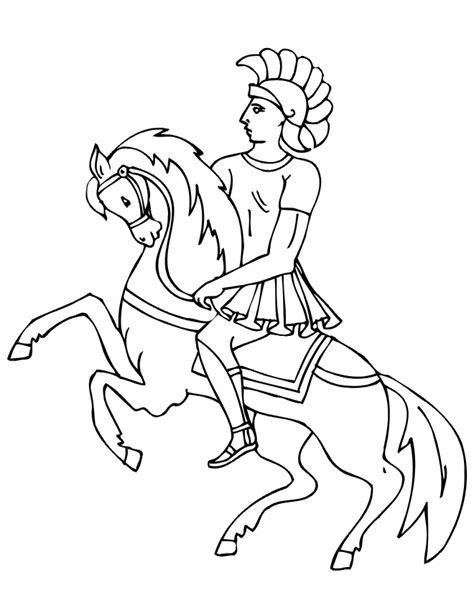 coloring pages of knights and horses free coloring pages of and