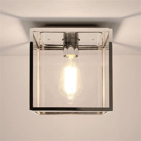 Ceiling Light Box Astro Lighting 7846 Box Polished Nickel Ip23 Exterior Ceiling Light