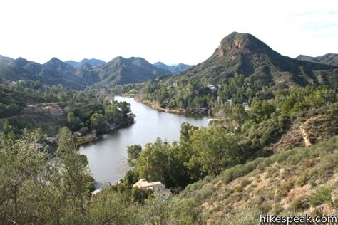 hiking trails malibu lake vista trail malibu creek state park hikespeak