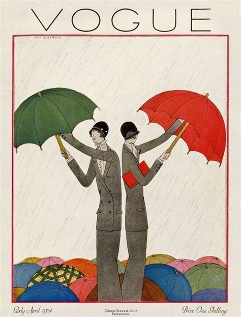 in vogue an illustrated vogue april 1924 you ll love these illustrated vintage vogue covers livingly