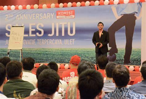 Bangga Jadi Orang Sales Indonesia Dedy Budiman Sif Murah biskom 187 archive 187 komisi rayakan hari jadi kedua