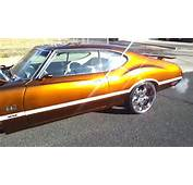 71 Oldsmobile 442 Cutlass On Staggered 22s  YouTube