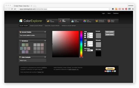 website color palette generator 21 color palette tools for web designers and developers