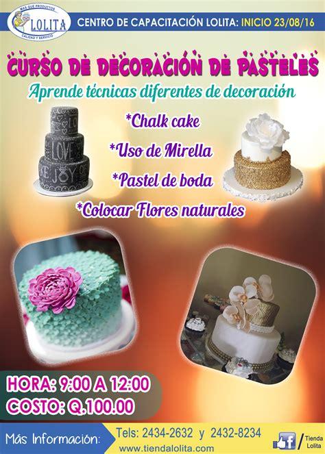 cursos de decoracion curso de decoracion de pasteles