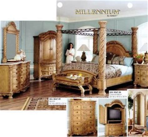 ashley south shore bedroom set bedroom suite ashley south shore poster king wood bed