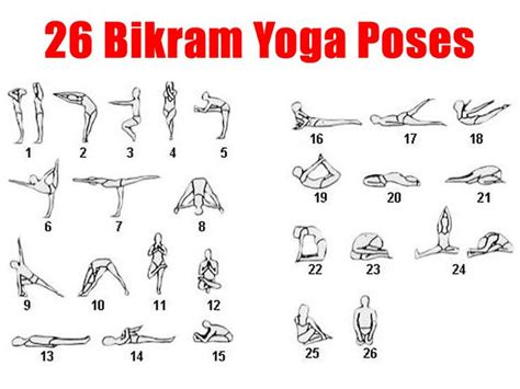 Printable Chart Of Yoga Poses | 1000 images about bikram 26 poses on pinterest yoga