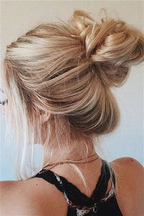 wet and messy hair look best 25 perfect messy bun ideas on pinterest