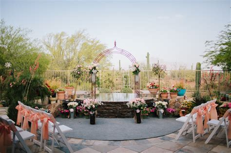 kerzenhalter outdoor backyard wedding in arizona arizona diy backyard