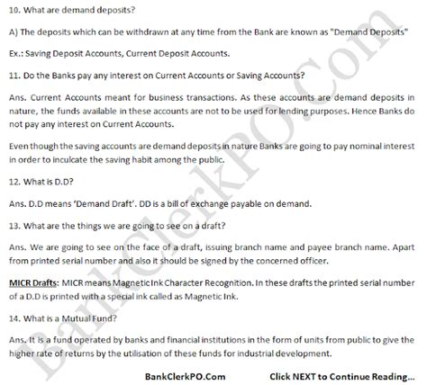 9 Common Questions And Answers by Top Questions With Answers Sbi Ibps Po Clerk