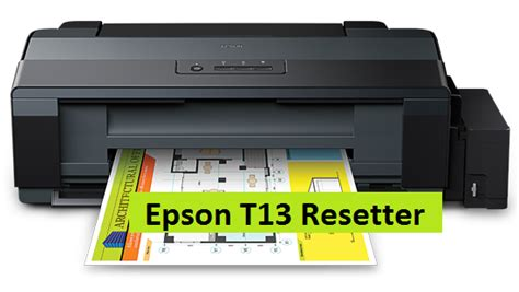 reset epson t13 waste ink pad resetter epson t13 epson adjustment program epson