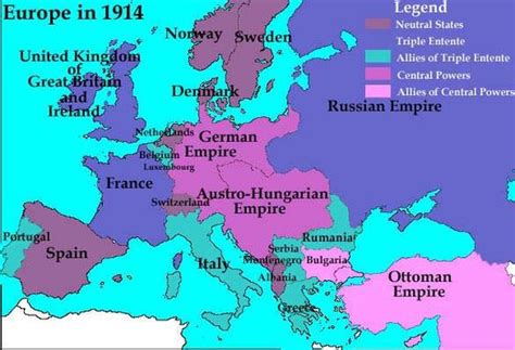 1914 political map of europe this is a map of europe in 1914 it has most the of the