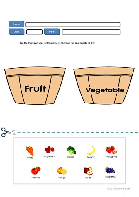 worksheets for preschool fruits free worksheets 187 printable fruits and vegetables free