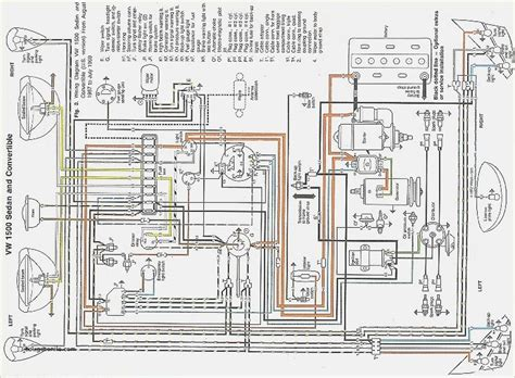 1967 vw 1500 wiring diagram wiring diagram manual