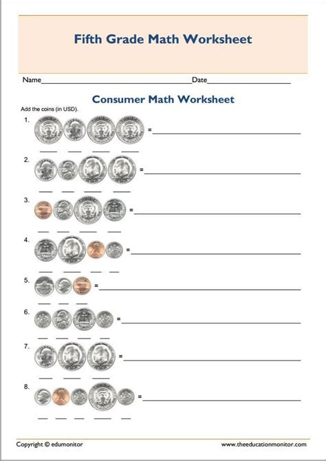 81 best fifth grade worksheets images on pinterest free