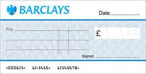 joke cheque template blank barclays bank large cheque for charity