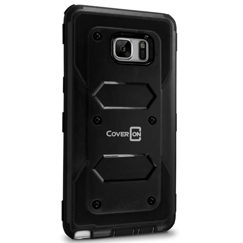 Samsung Note 7 Holster Future Armor Casing Cover Bumper Stand for samsung galaxy note 7 7s hybrid phone cover armor ebay