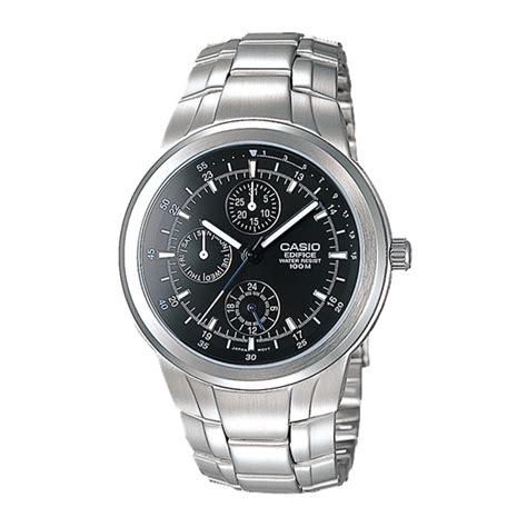casio edifice efr 538d 1a jam tangan pria stainless steel