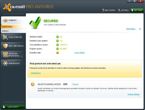 Antivirus Avast Pro free software avast pro antivirus 6 0 1000