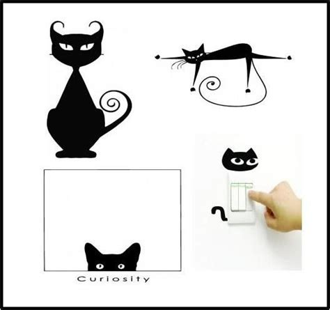 cat wall sticker 17 best images about cat on cats