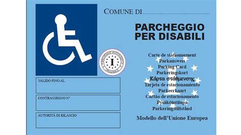 ufficio motorizzazione torino pass disabili scadono come le patenti di guida