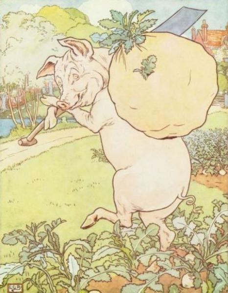 Second Boneka Leonard Pig three pigs raconte moi